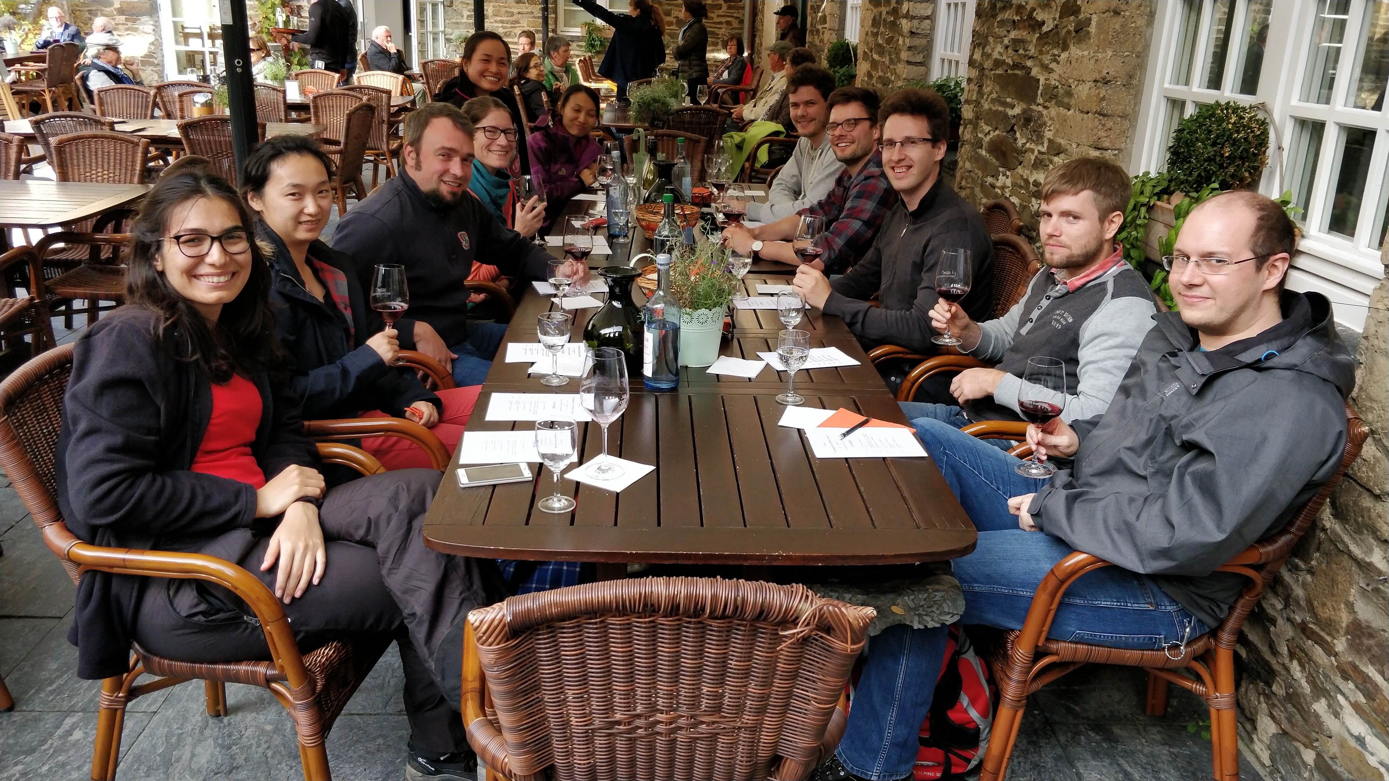 Wine tasting at Kloster Marienthal